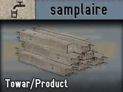 SAM T - Fundament palowy stos/SAM P - Pile foundation stack